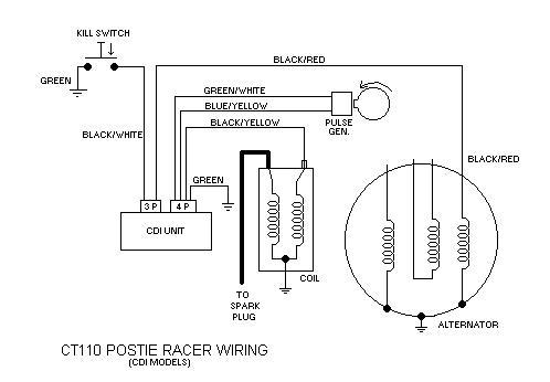 postie cdi wiring wiring help dbw dirtbikeworld net members forums cdi wiring diagram honda 150 at bayanpartner.co